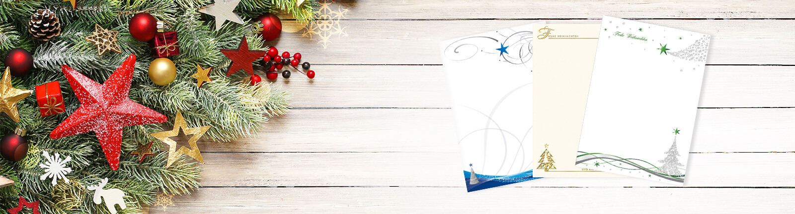Briefpapier Weihnachten - Briefpapier, Couverts & mehr