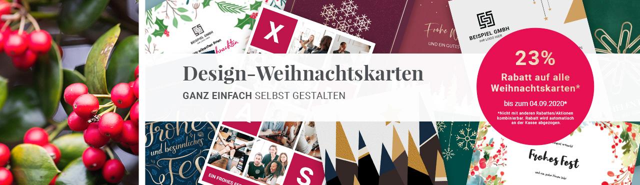 Design-Weihnachtskarten