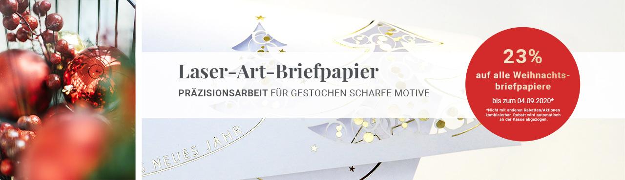 Laser-Art-Briefpapier