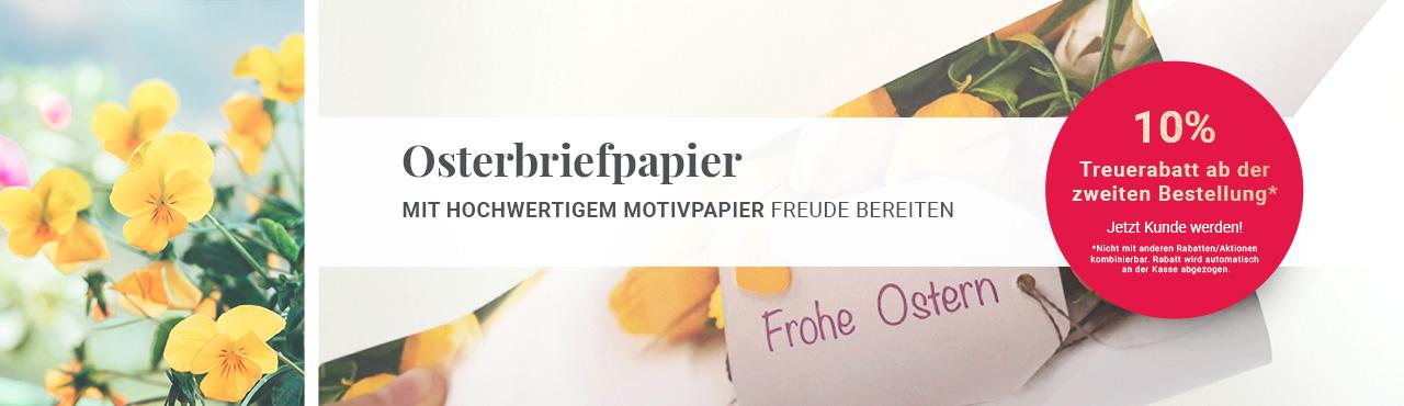 Osterbriefpapier