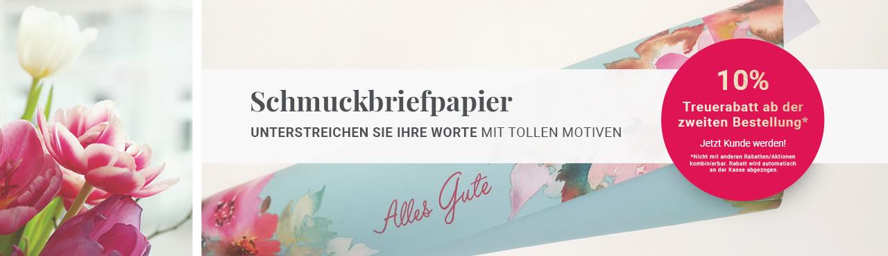 Schmuckbriefpapier