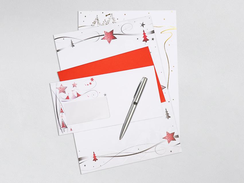 Briefpapier, Couverts & Mehr